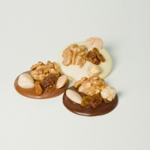Chocolate assortment nuts